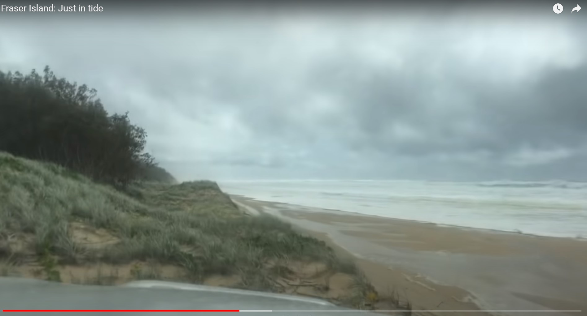 """Here's what's wrong with the DCS Fraser Island """"tide escape"""" video"""